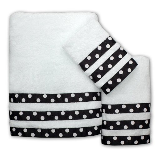 Bath Towel Sets Black And White: 51 Best Images About Embellished Towels On Pinterest