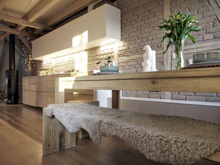 34 best Interieur Küchen mit Holz images on Pinterest Kitchen - küchen aus altholz