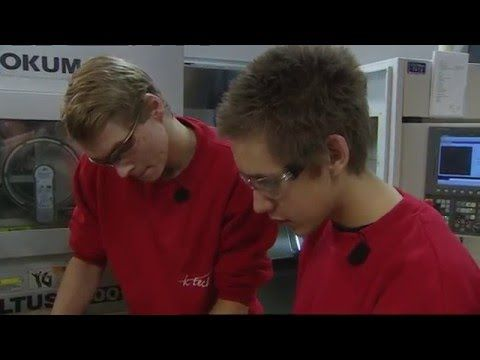 Mitt yrke - CNC-operatør - YouTube