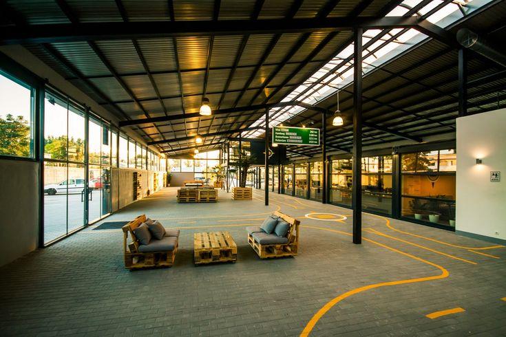 Csarnok tető - egyedi gépészet / Roof with energy-friendly machinery