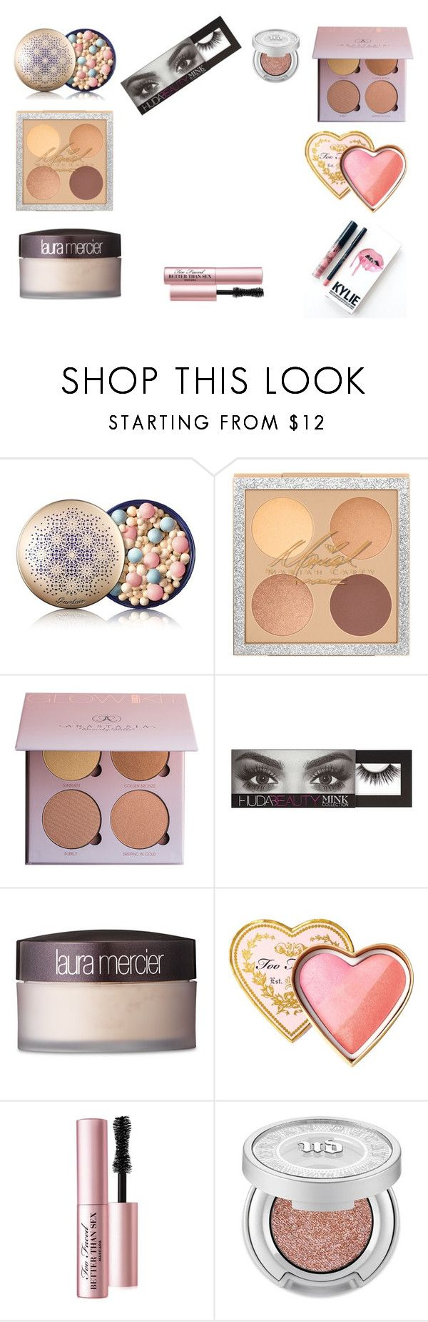"""flexi space"" by magdishia on Polyvore featuring uroda, Guerlain, Huda Beauty, Laura Mercier, Kylie Cosmetics, Too Faced Cosmetics i Urban Decay"