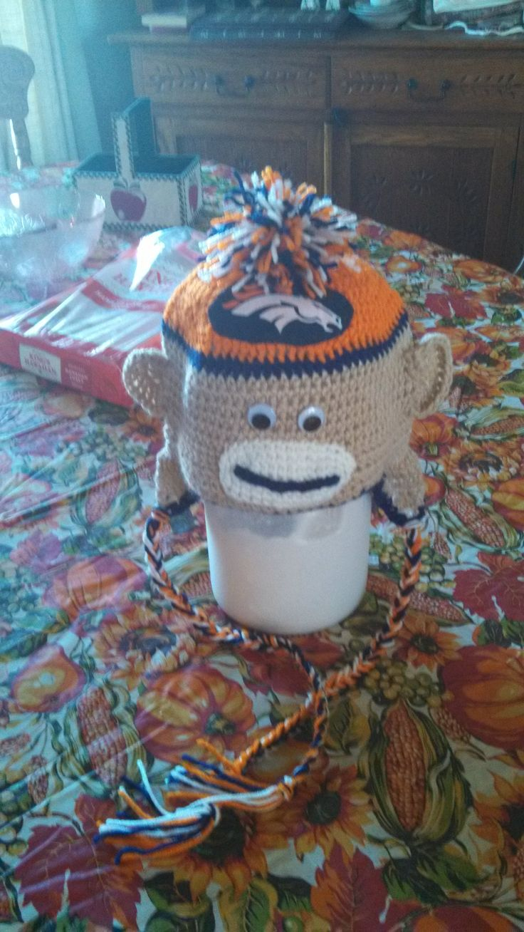 best broncos images on pinterest crochet granny crocheting
