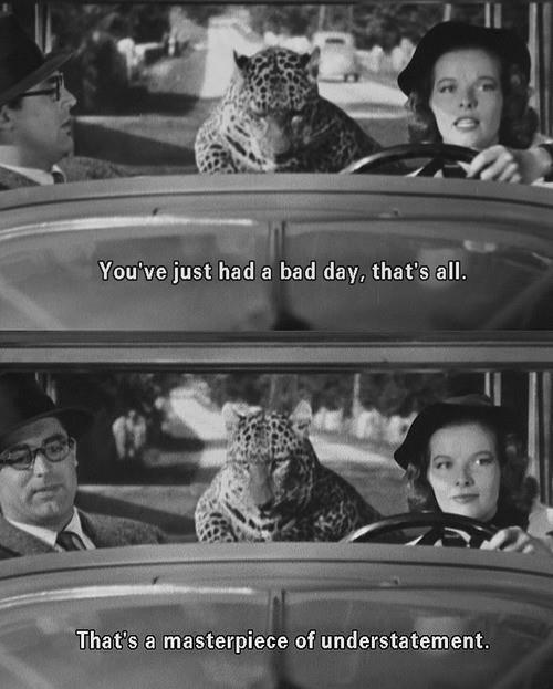 Cary Grant + Kathrine Hepburn ...