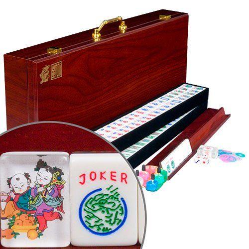 American Western Mahjong Set - Little Friends