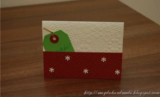 Felicitare de Crăciun MH028 / Christmas Greeting Card MH028