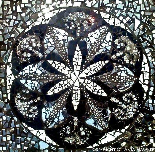 Custom Mosaic Mandala on Etsy, $1,200.00 AUD