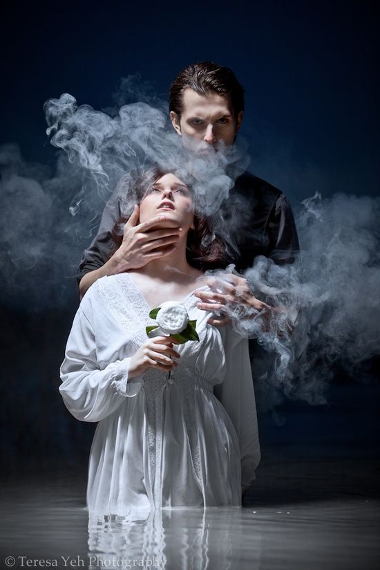 Hades and Persephone. Greek mythology.