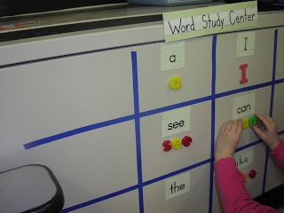 Keen On Kindergarten: literacy centers