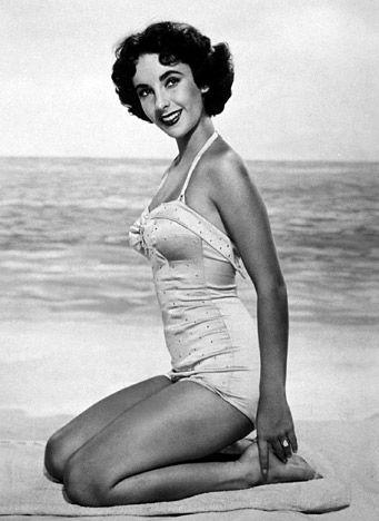 She was so beautiful.Elizabeth Taylor