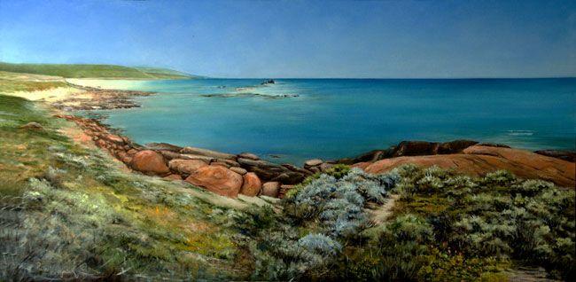 Painting: 'Margaret River'