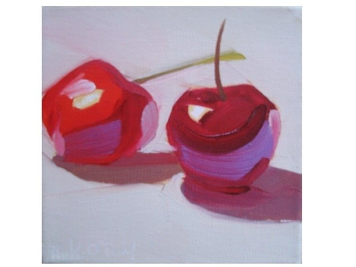 Paintings by Karen O'Neil on Peaceful Products.  Really amazing oils on linen...wish I could afford them!