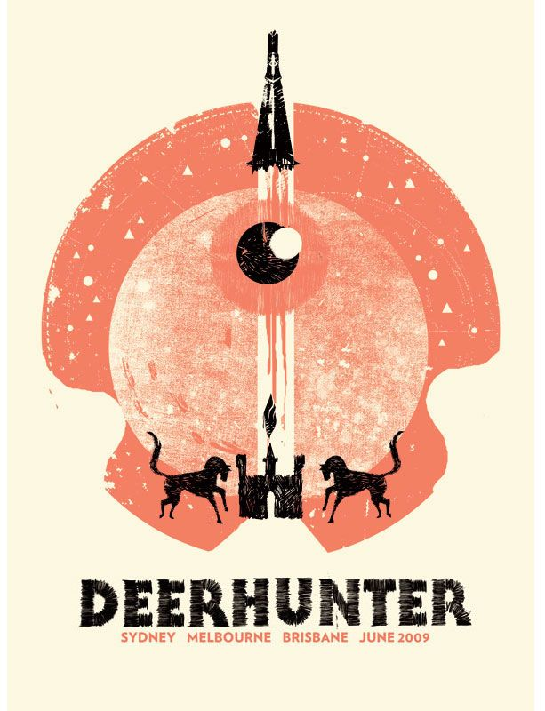 Deerhunter #music #poster #gig