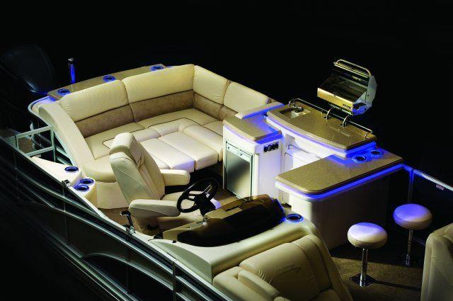 Cool pontoon boat lights
