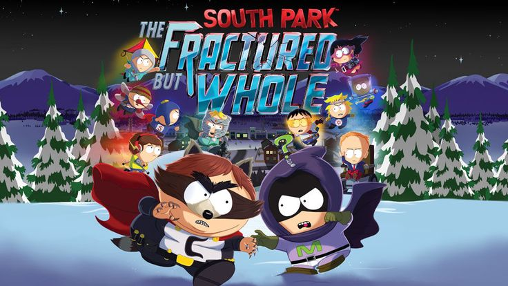 South Park The Fractured But Whole. New south park game coming out on December 6.