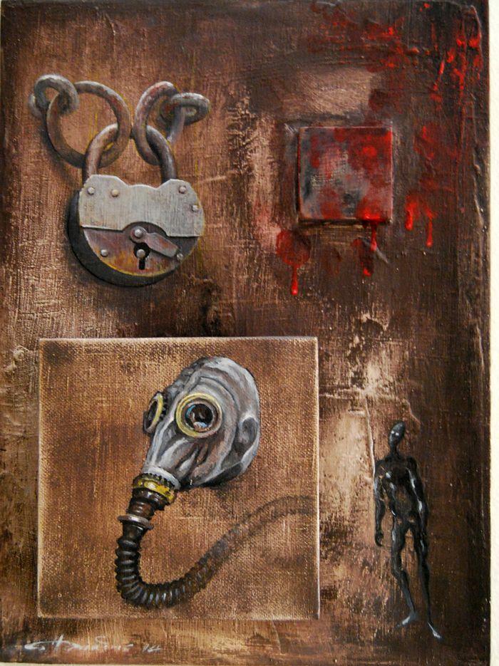 acrylic on canvas http://eliadesart.blogspot.gr/