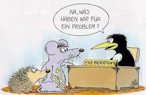 witzige Comic Gästebuch Bilder - eheberatung__na_was_haben_wir_fuer_ein_problem.jpg - GB Pics