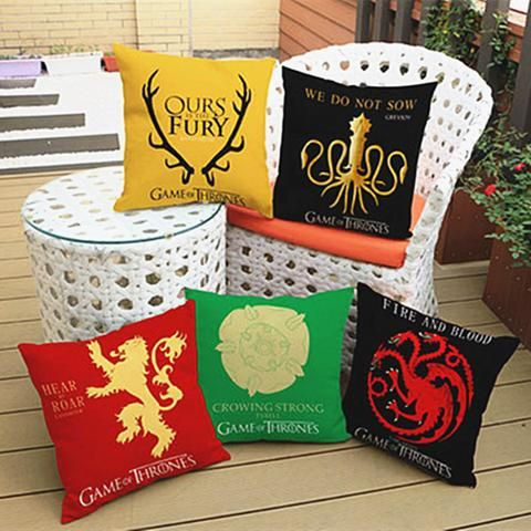 Game of Thrones ''Families'' Pillow