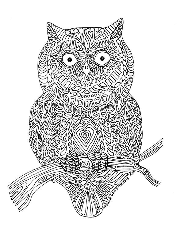 13 best images about Tricia Griffith Coloring Pages on Pinterest