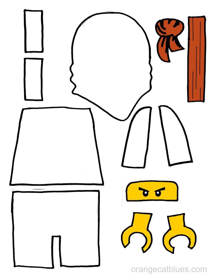 ber 1000 Ideen Zu Ninja Geburtstag Auf Pinterest Hindernislauf Lego Geburtstagsparty Und