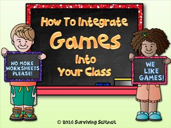 This is a FREE book about how and why to add games to your lessons. You can experience 100% student engagement when your students are learning while playing games.  FREE game downloads included!