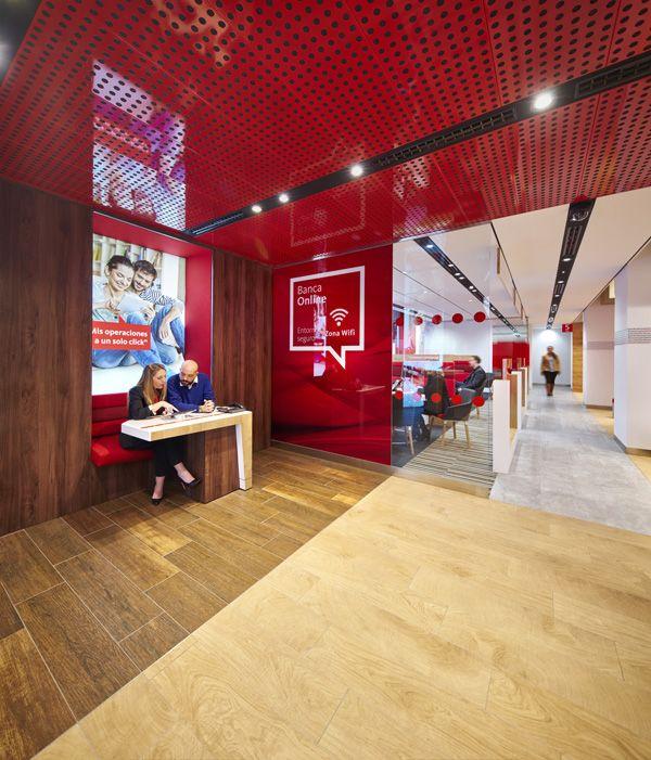 Santander unveils branch of the future retail focus for Retail space design