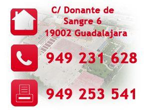 Colegio Sagrado Corazon. Plaza Fernando Beladíez 2, 19100 Guadalajara. Tfno 949220400