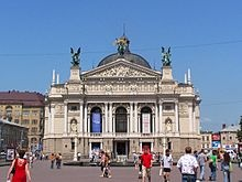 Das Lemberger Opernhaus