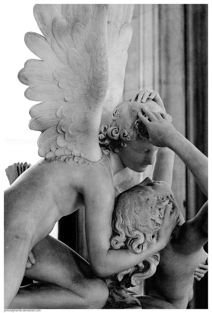 "Cupid and Psyche in the Louvre. #cupid #psyche ""Now that he had tasted her while sober, he wanted her. It was overwhelming to be desired by such a tempting, sensual creature. She felt like Psyche being desired by Cupid. And she could not deny the attraction she felt for him, or the way she fluttered with longing when he kissed her."" Ch17GI"
