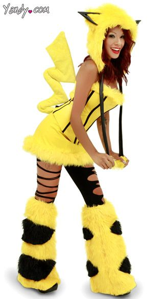 sexy yandy brand pikachu designer costume high quality animal cosplay pokemon m listing in the costumes for womenfancy dressclothes shoes - Pikachu Halloween Costume Women