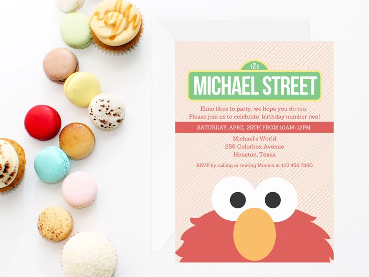4ec301253515d3e0ce73f89648122860 elmo invitations sesame street invitations 25 great ideas about elmo invitations on pinterest,Elmo Invitations Etsy