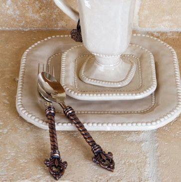 GG Collection Fleur De Lis Flatware - mediterranean - flatware - atlanta - Iron Accents