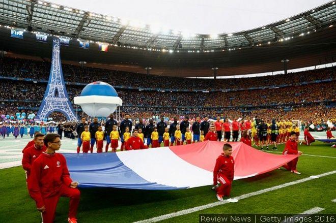 Церемония открытия Евро-2016 во Франции (ФОТО)