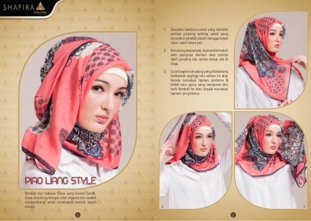 Tutorial Hijab Segi Empat Zoya Ragam Muslim Hijab Tutorial Tutorial Hijab Segi Empat Hijab