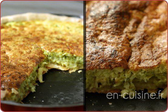 Recette tarte aux poireaux, lardons et parmesan au Thermomix