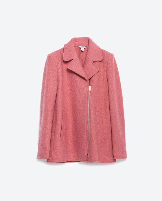 Manteau à revers, Zara
