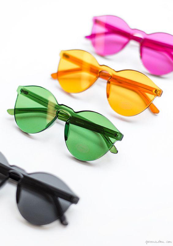 Weekend Inspiration, Sunglasses, Sincerely Tommy / Garance Doré