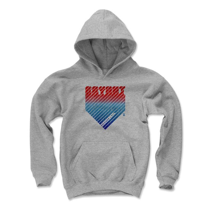 Kris Bryant Home R Chicago C MLBPA Officially Licensed Youth Hoodie S-XL