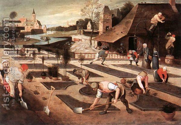 Spring 1607 by Abel Grimmer