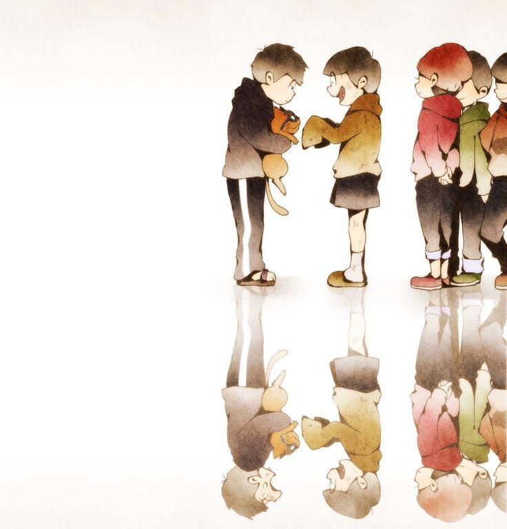 Osomatsu-san- Osomatsu, Choromatsu, Ichimatsu, Jyushimatsu, and Todomatsu #Anime「♡」