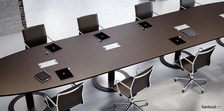 multipli ceo long leather meeting table meeting rooms pinterest meeting rooms office. Black Bedroom Furniture Sets. Home Design Ideas