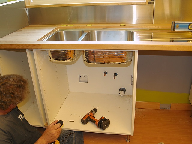 Undermounting The Ikea Boholmen Sink Idea Para Cocina