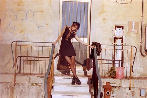 Honky Tonk Woman: Fashion editorial for //SLANG Magazine