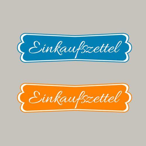 Einkaufszettel, Modernes Label, Stampin´Up! Stempeln, Craft, basteln, stampin https://www.facebook.com/Colorspell