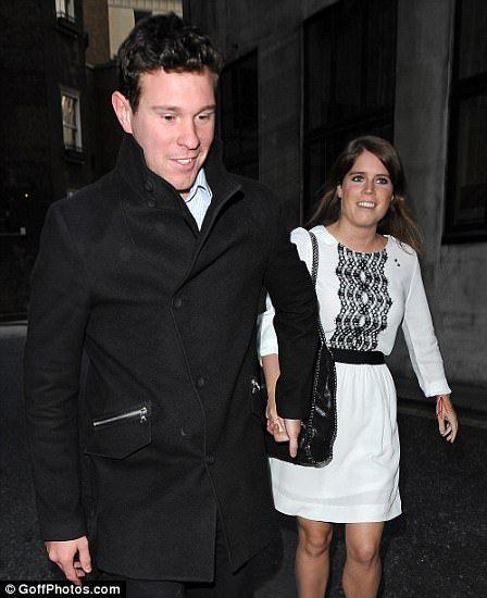 HOW LONG HAVE EUGENIE AND JACK BEEN DATING? February 2010: Princess Eugenie's father, the Duke of York, marked his 50th birthday with a holiday at the exclusive Swiss ski resort of Verbier. It was there, according to sources, that love first blossomed between a then 19-year-old Eugenie and Jack Brooksbank, who was enjoying a skiing holiday with friends in the same spot.