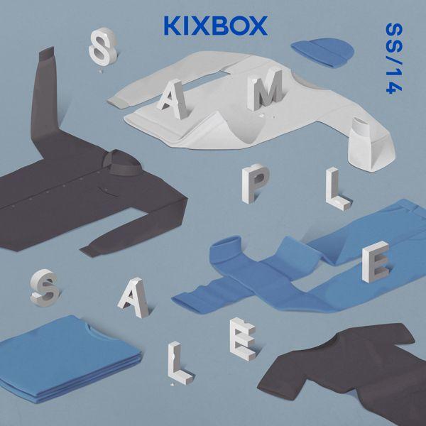 KIXBOX / Sample Sale / SS14 by Lesha Galkin, via Behance