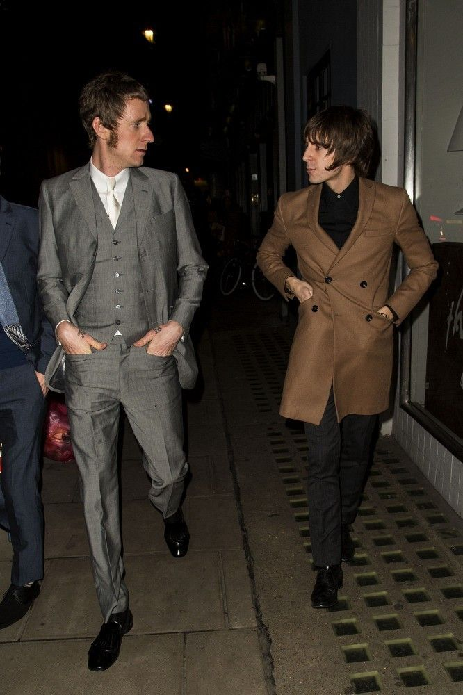 Mod inspiration. Bradley Wiggins and Miles Kane Out Together.