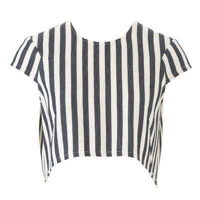 Burdastyle Capped Sleeve Cropped top