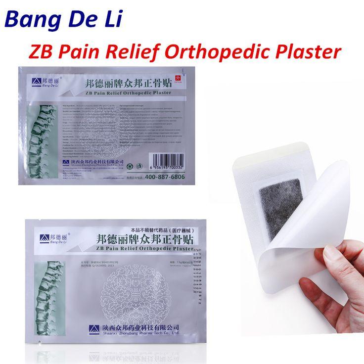 60 pcs/Lot zb soulagement de la douleur orthopédique plâtre soulagement de la douleur patch Colonne Vertébrale médicamenteux plâtre dos douleur musculaire l'arthrite rhumatismale