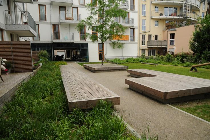 Large timber benchseats. Pinned to Garden Design - Outdoor Furniture by Darin Bradbury.