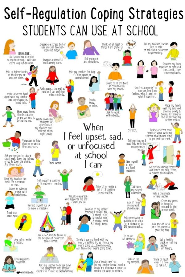 How Kids Learn Better By Taking >> Self Regulation Coping Strategies Use In Your Take A Break Calm